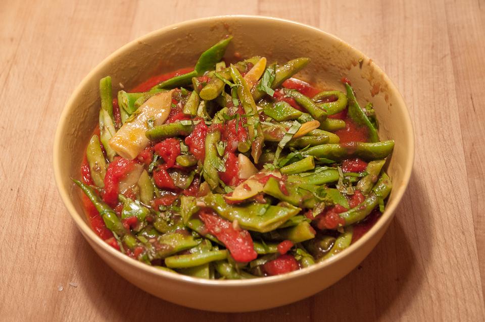 Pole Bean Recipes | Lopez Island Kitchen Gardens