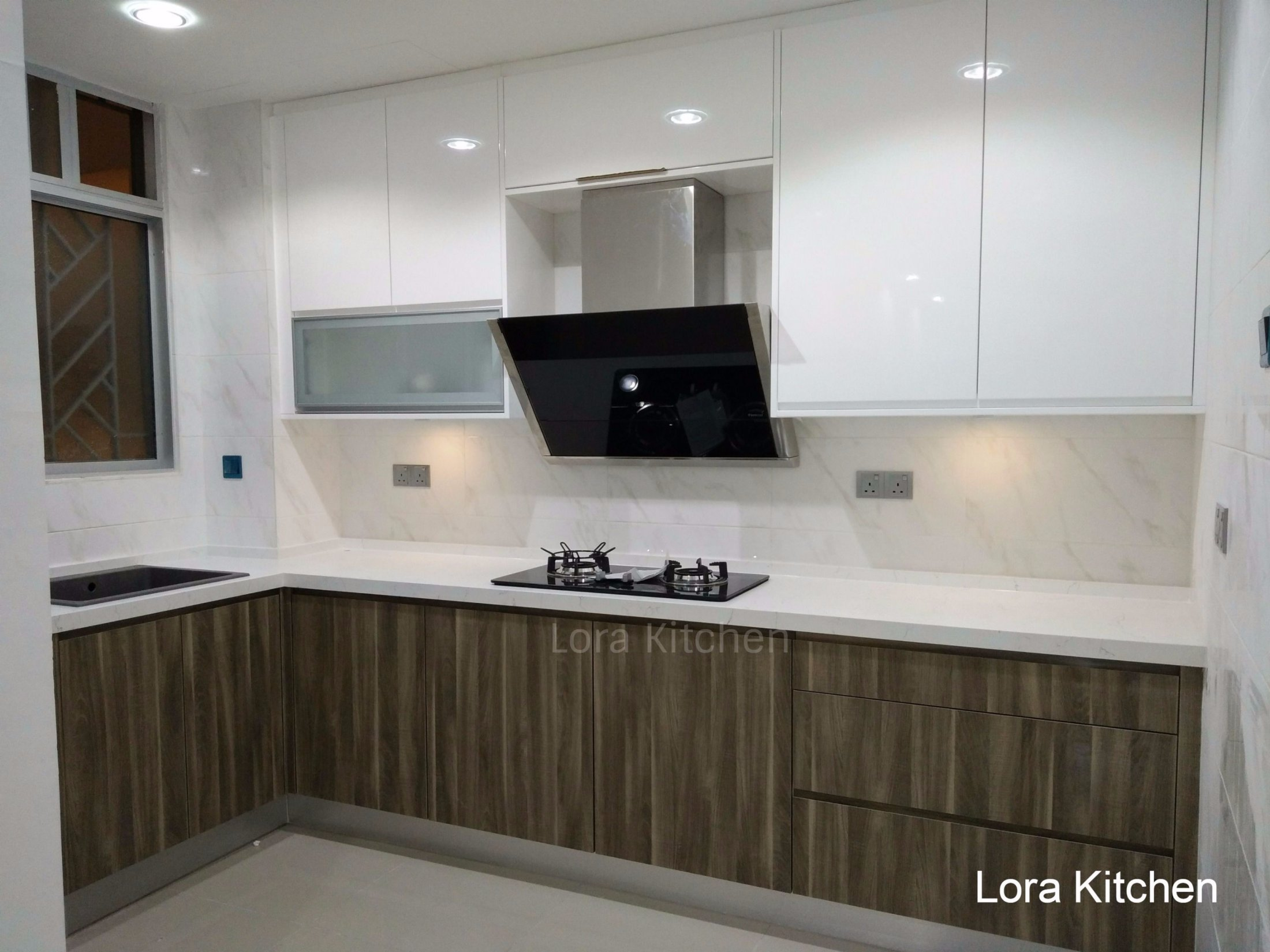 Cabinet Designs For Kitchens Stunning Modern Kitchen Cabinet Design In Malaysia Lora