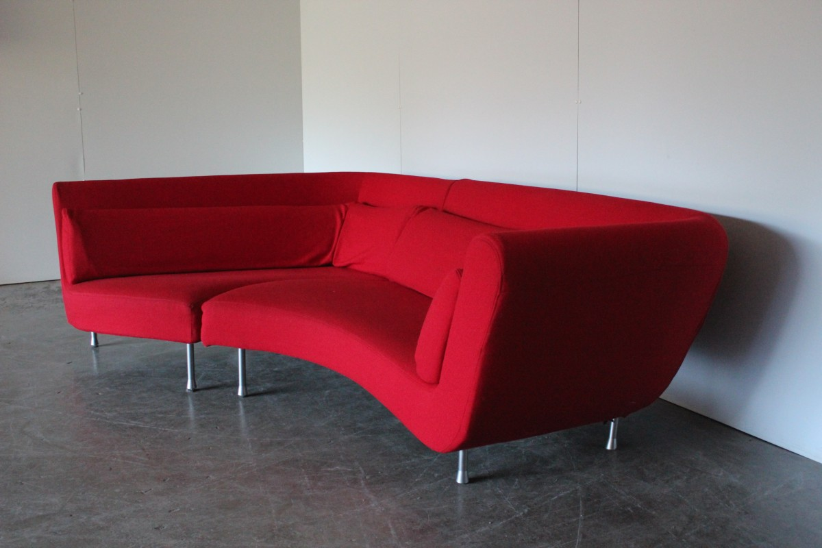 "Ligne Roset Yang Stunning Huge Ligne Roset ""yang"" Sectional Sofa In Bright"