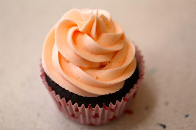 así va a quedar el cupcake