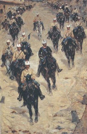 Fattori ritorno della cavalleria