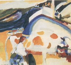 Kandinskij La mucca