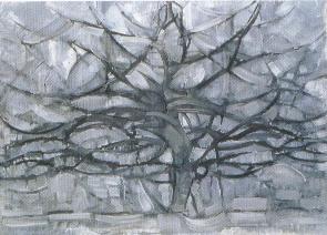 Mondrian, L'albero argentato