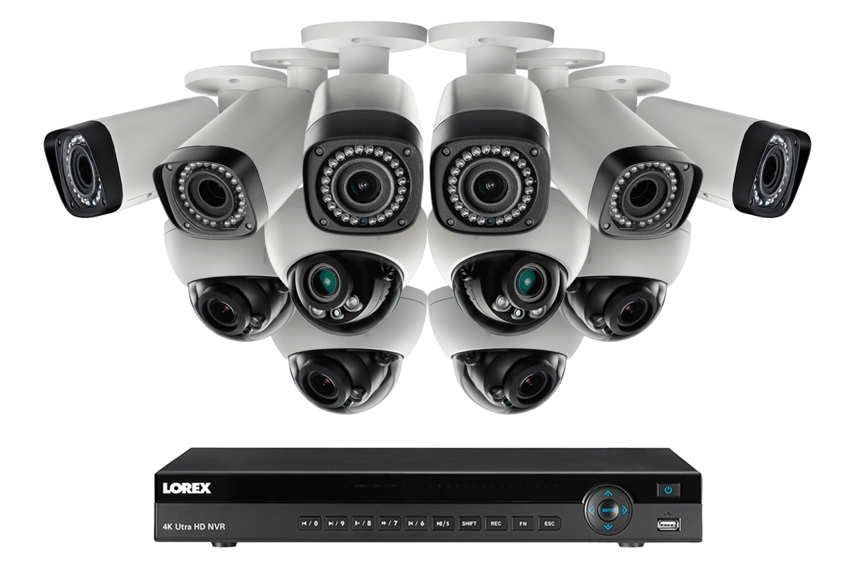 Camera De Surveillance Exterieur Costco Hd Security Nvr With Real Time 1080p Recording And Flir Cloud Lorex