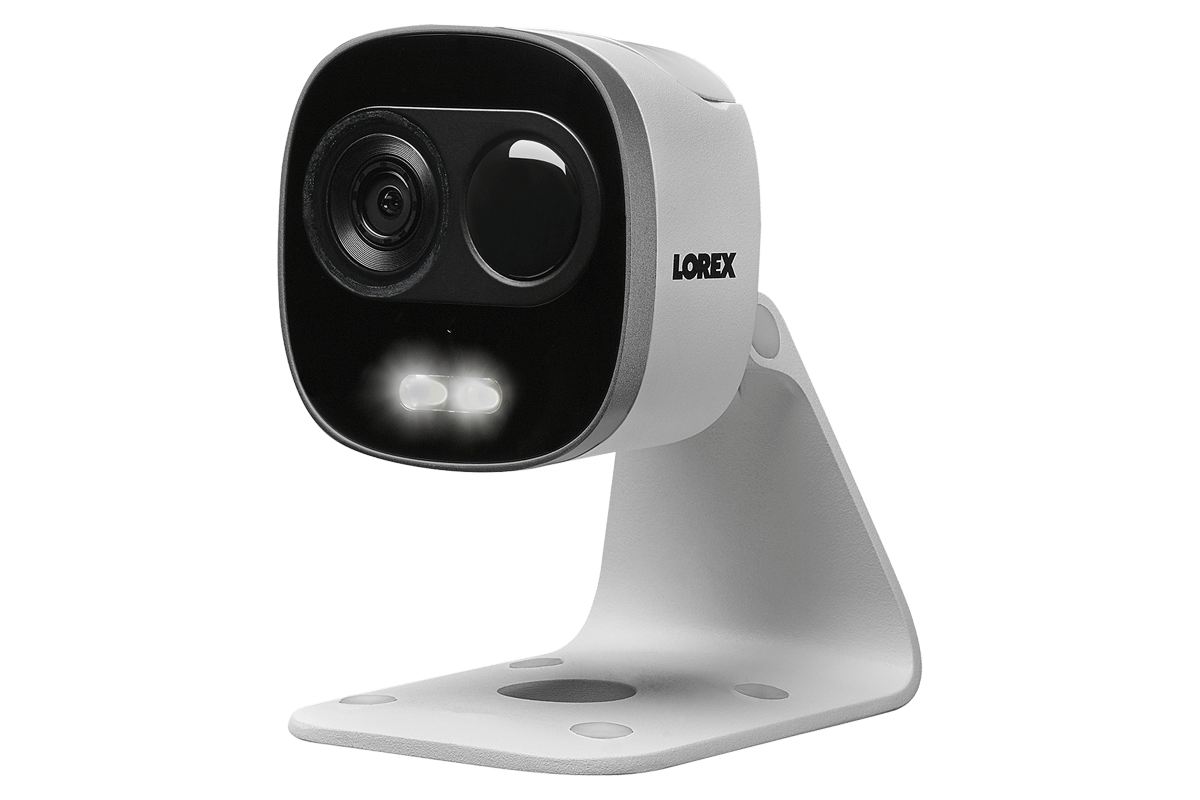 Camera Exterieur Wifi Sans Fil 1080p Active Deterrence Wifi Security Camera Lorex