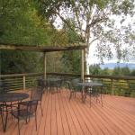 Deck at Torii Mor Winery