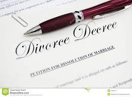 PAPELES PARA EL DIVORCIO