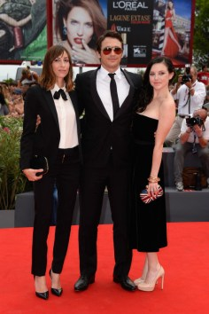 Gia Coppola and actors James Franco and Claudia Levy