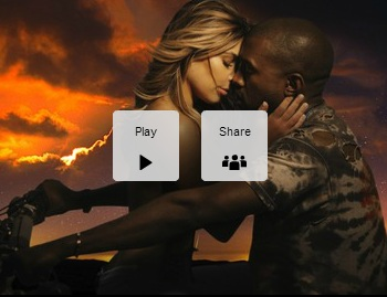 "Kanye West and Kim Kardashian for ""Bound 2"" Kanye's new Music Video"