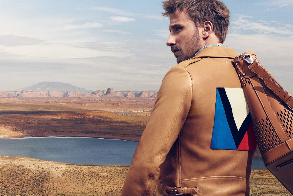 Matthia Schoenaerts for Louis Vuitton Men's Spring Ad