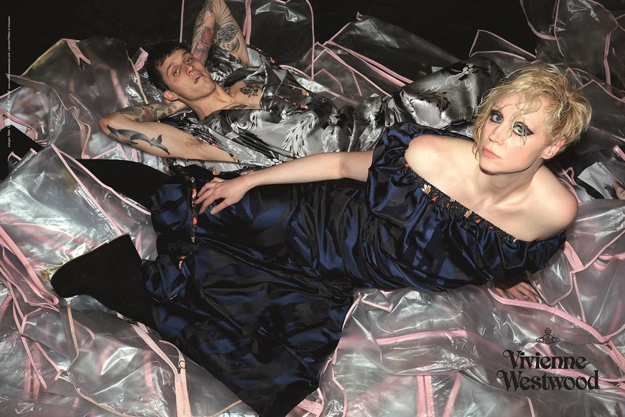 Gwendoline Christie and Juergen Teller for Vivienne Westwood Fall