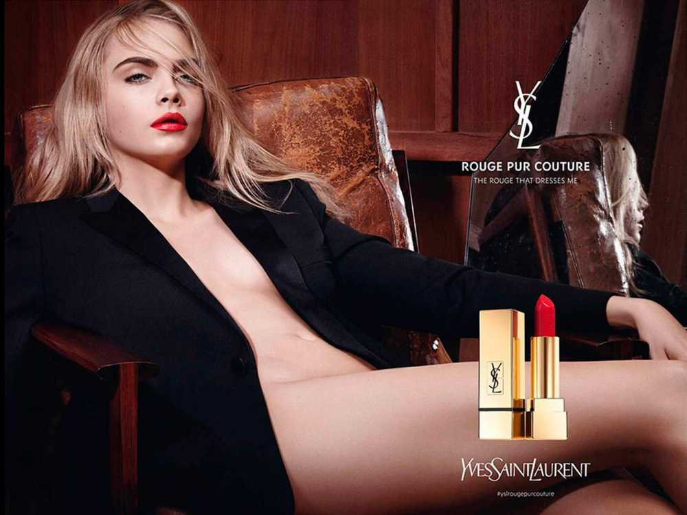 Cara Delevingne For YSL Beauty Ad Campaign