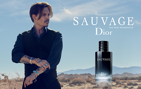 Johnny Depp Fronts Dior Sauvage New Fragrance