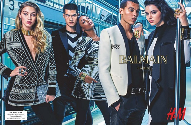 First Images Of Balmain X H&M Ad Campaign