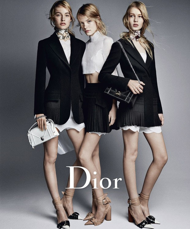 Patrick Demarchelier Dior Spring Summer 16 Ad Campaign