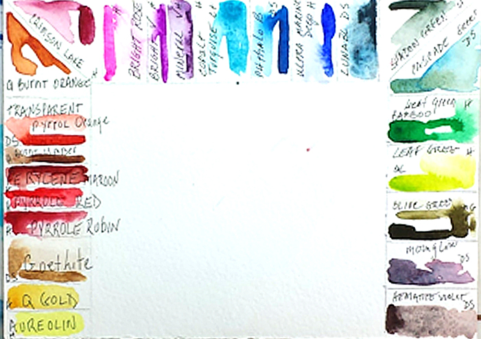 Setting Up My Watercolor Palette PAINT WITH ME