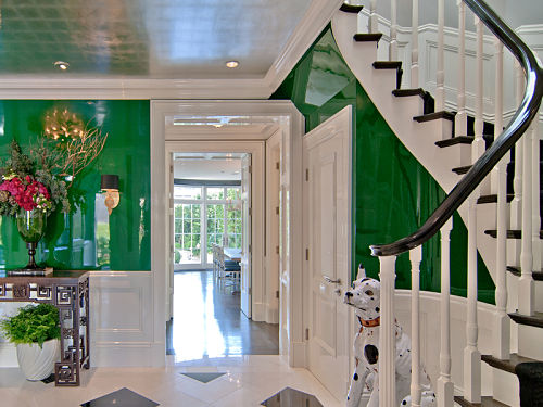 Nifty Tip The Black Lacquered Banister Lorri Dyner Design