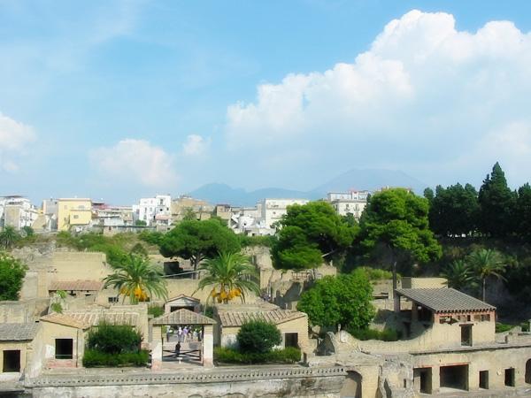 Die Ausgrabungen in Heraculeum