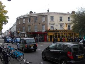 Zu Fuß zur Portobello Road