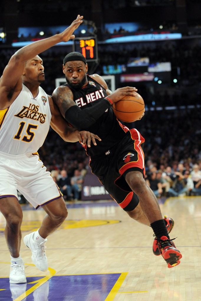 Lakers Vs Heat Cbs Los Angeles