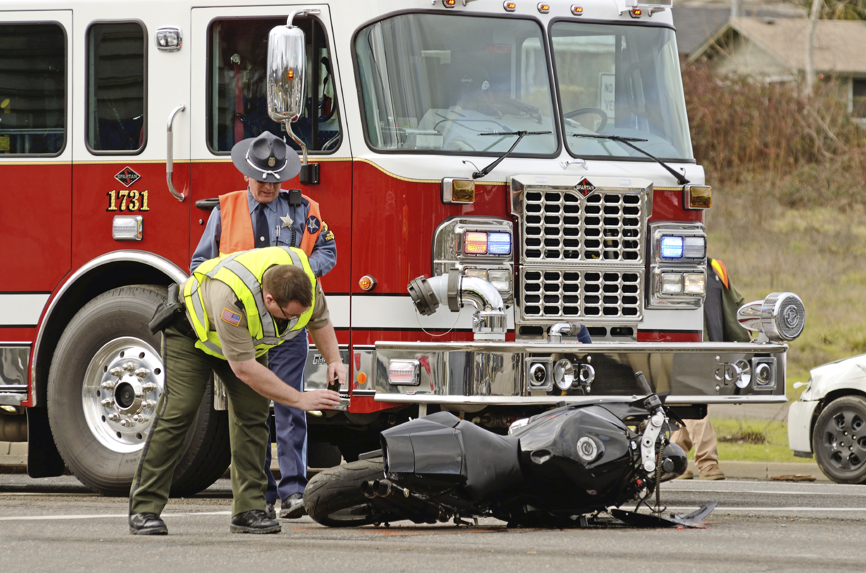 Injured In Accident Los Angeles Motorcyclist Injured By Freeway Bridge Jumper Los