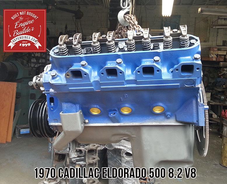 Remanufactured Cadillac Eldorado 500 8 2 V8 Engine