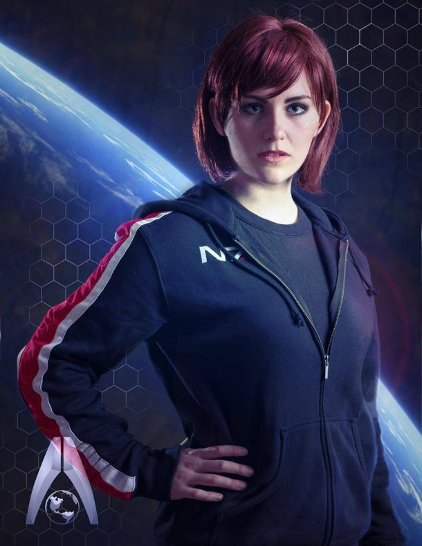 Mass Effect Liara Quotes Wallpaper Commander Jane Shepard Cosplay By Alicia