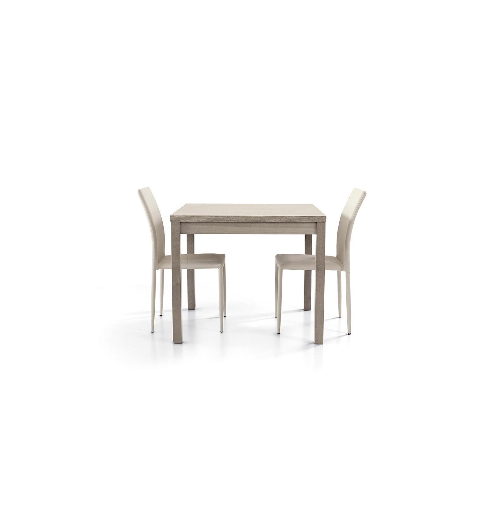 Tavolo Da Pranzo Quadrato 140 X 140 | Tavolo Quadrato Dante Tavolo ...