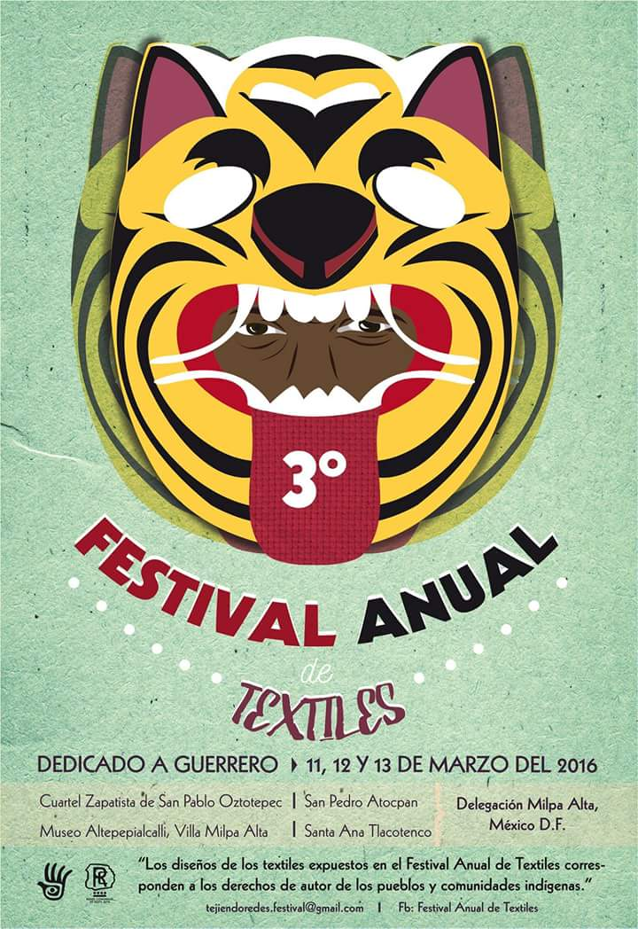 Alistan tercera edición del Festival Anual de Textiles