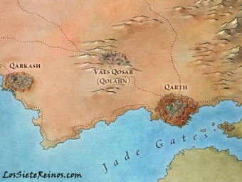 Qarth - The Lans of Ice and Fire