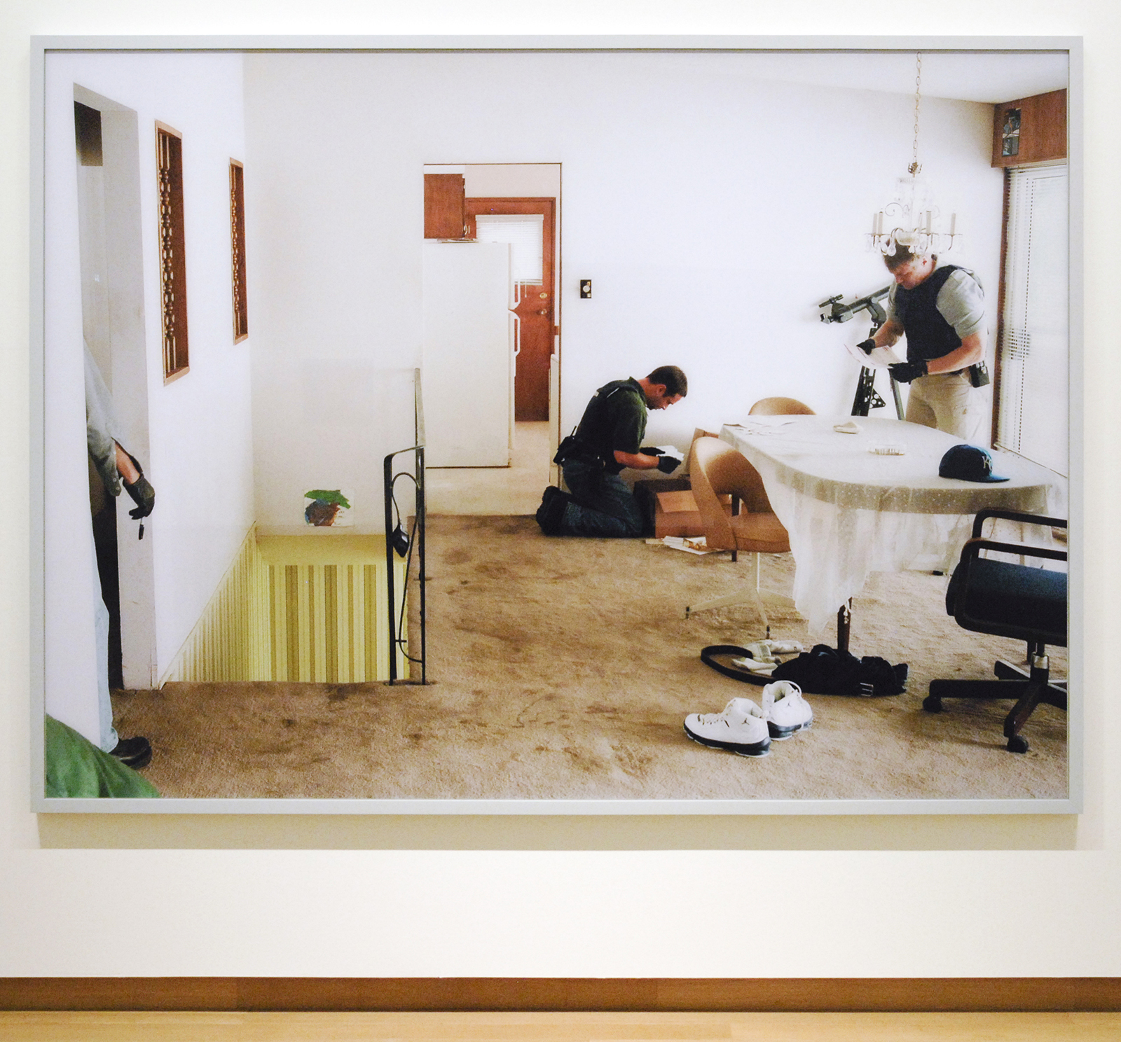 Image De Dressing Stedelijk Museum; Jeff Wall – Tableaux, Pictures