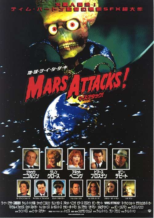 Michael Haas Movie Review- Mars Attacks! | Panther Red