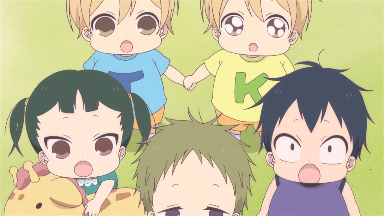 Cute Baby Cry Wallpaper Gakuen Babysitters 08 Lost In Anime