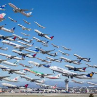 Mike Kelley Captures Airport Activity in One Photo