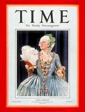 Lehmann on the cover of Time 1935