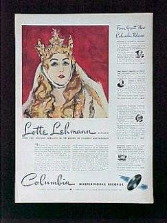 Columbia Records Ad 2