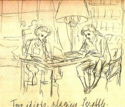 Luba Tcheresky with Frances