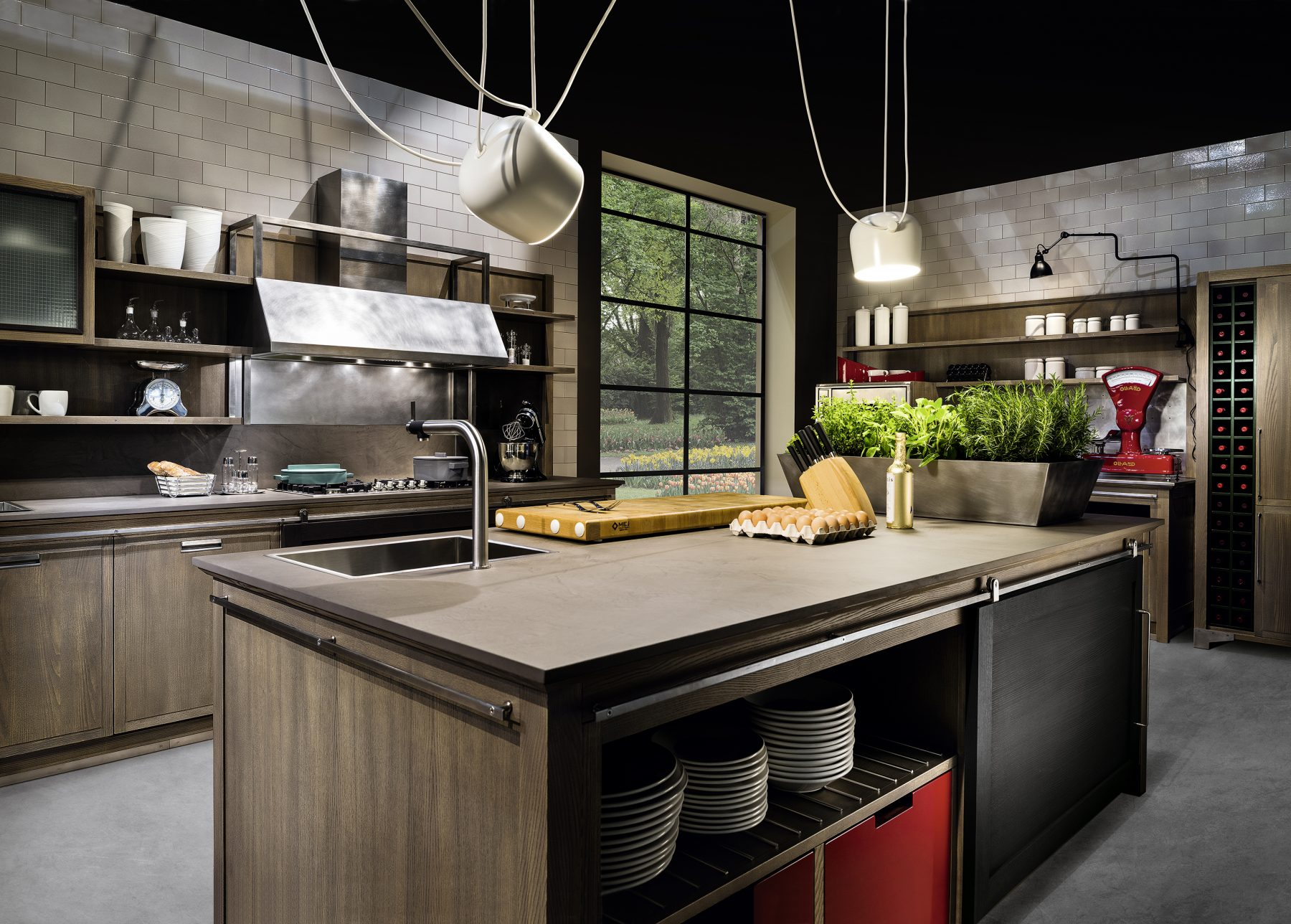 Cucina Stile Industrial Chic Industrial Chic L Ottocento