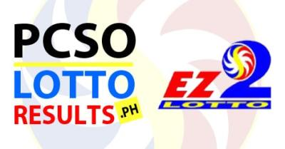 July 5, 2017: 2017: PCSO EZ2 Results - Philippines PCSO Lotto Results