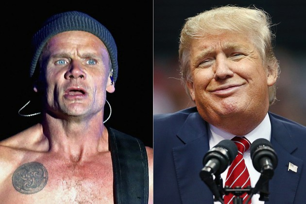 Trump Red Hot Chili Peppers