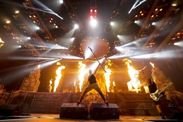 Black Veil Brides Live Wallpaper Iron Maiden To Live Stream Wacken Open Air 2016 Performance