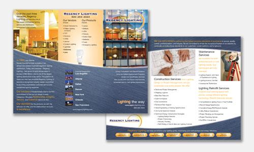 Freelance Graphic Design Sample Portfolio Brochure Design