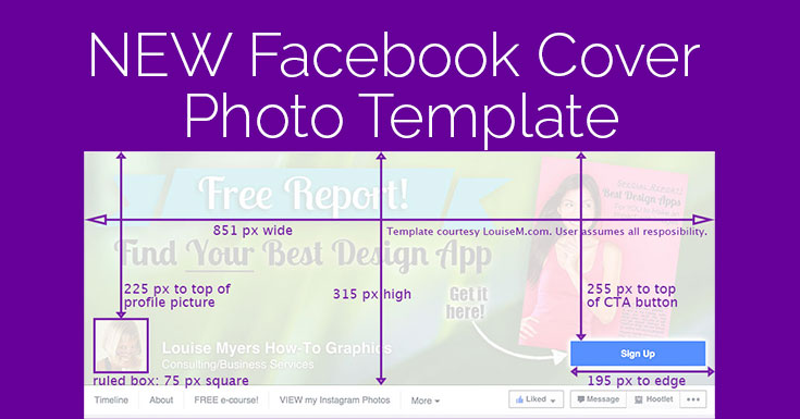 Facebook Cover Photo 2015 Template It Changed Again!