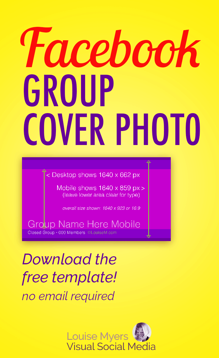 Size M Facebook Group Cover Photo Size 2019 Free Template