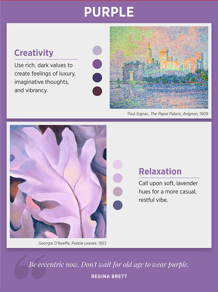What Does Your Favorite Color Say About You? infographic