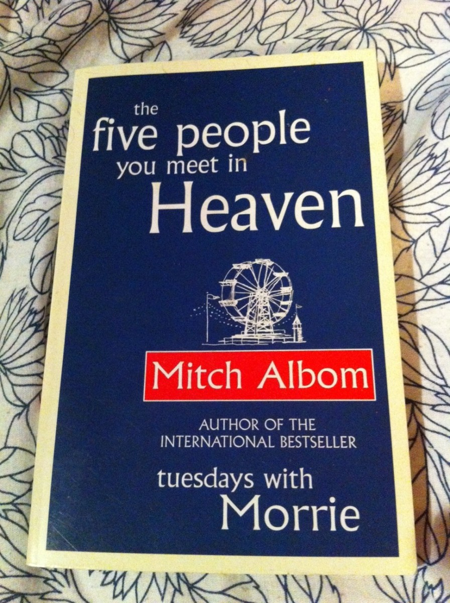 an analysis of the five people you meet in heaven by mitch albom The five people you meet in heaven by mitch albom is a very good, insightful, and thought provoking book, and it's main character, eddie, made the book even more .