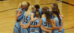 Girls Basketball Finishes 9-5 in NBC After Win at Marlington