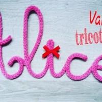 Vanessa Tricotine : des mots doux pour décorer !