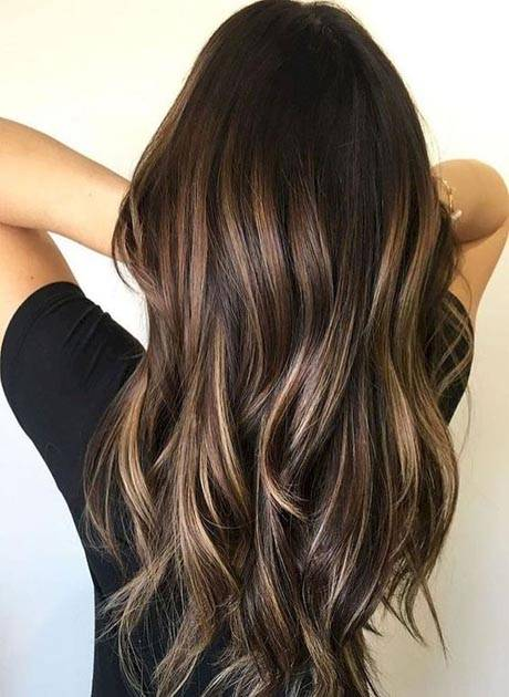 Balayage Ombre With Base Color Mèches Blondes Caramel Chocolat Rousses Dans Notre
