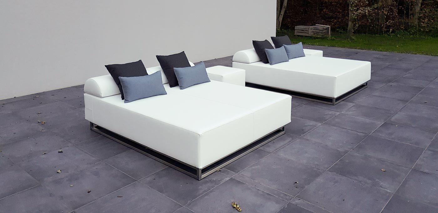 Loungeliegen Dutch Rivièra Outdoor Living Loungebett Outdoor